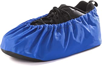 Washable Reusable Pro Shoe and Boot Covers, Nonskid - Made in USA - One Pair