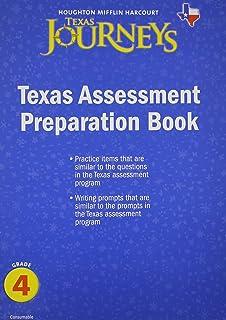 Journeys Texas: Assessment Preparation Student Edition Grade 4