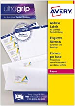 Avery l7163-15Pack of 210Laser Print Labels 99.1x 38.1MM White
