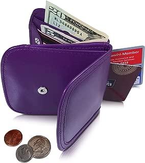 purple bus wallet