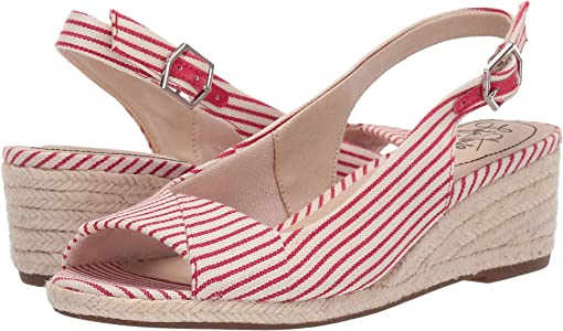 Red/White Nautical Canvas