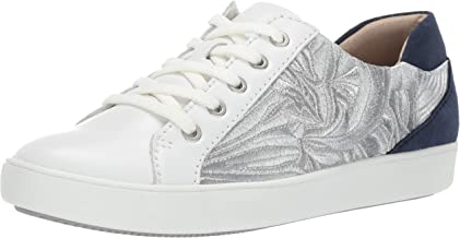 Naturalizer Women's Morrison 4 Sneaker, White/Silver, 7.5 Wide US