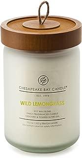Chesapeake Bay Candle Scented Candle, Wild Lemongrass, Large Jar