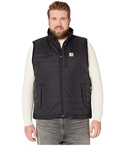 Carhartt Big Tall Gilliam Vest (Black) Men