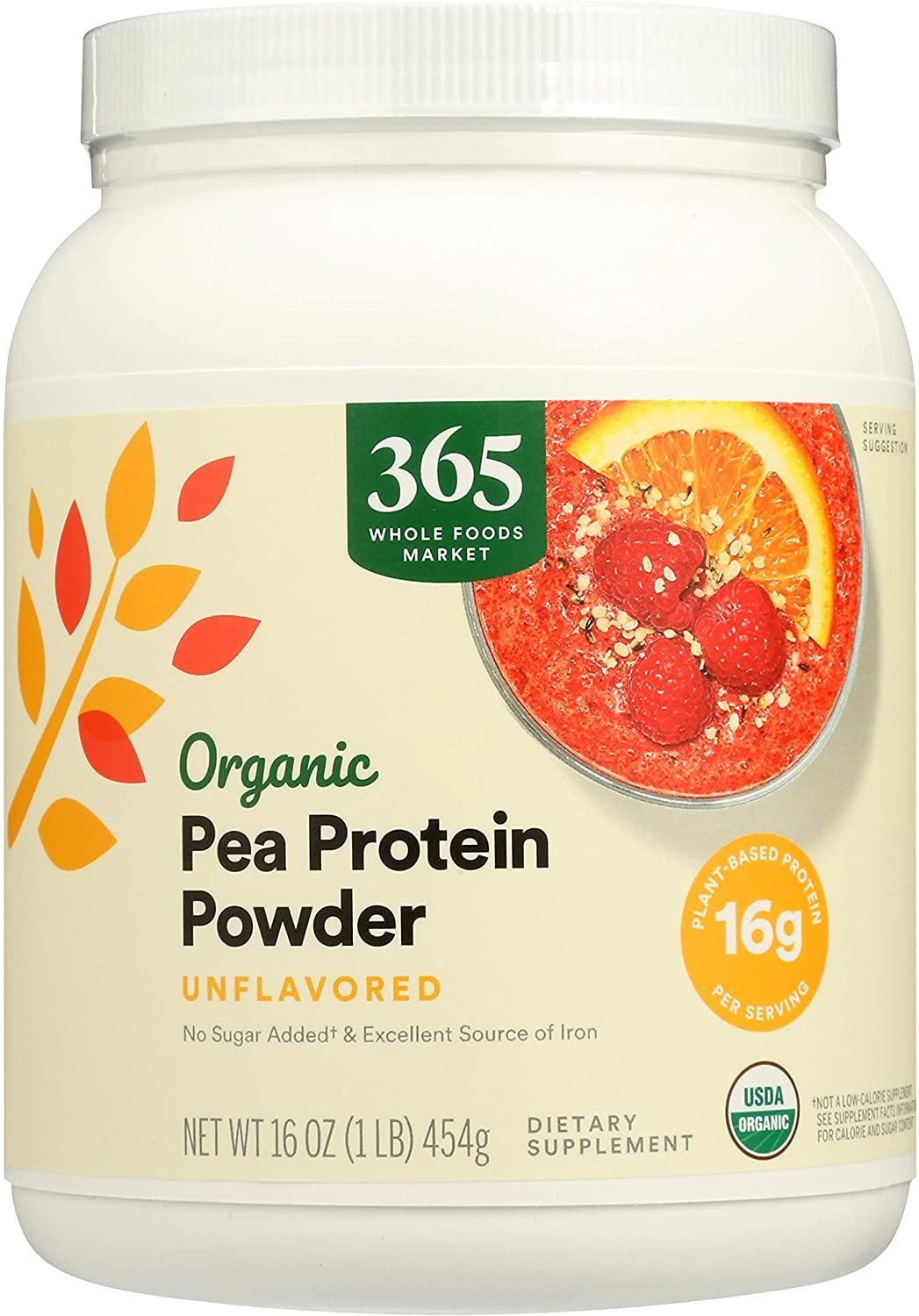 365 by WFM New Shipping Free 4 years warranty Protein Organic Ounce Pea 16