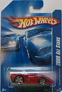 Hot Wheels 2008 All Stars 066 66 Red Tooned Enzo Ferrari 1:64 Scale