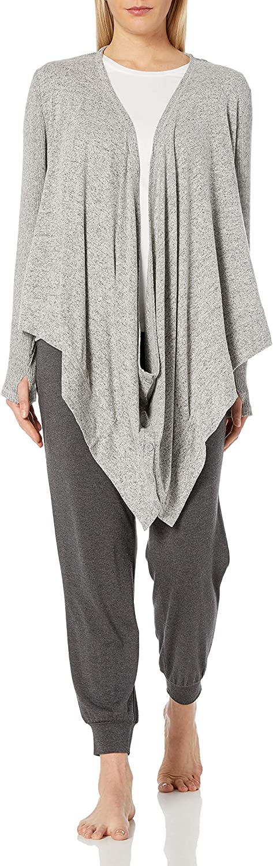 Karen Neuburger Women's Convertible Long Sleeve Sweater Jacket Cardigan Wrap