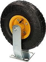 KOTARBAU® Luchtwiel transportwiel 25x30cm op stalen velg bokrol voor magazijnwagens