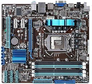 ASUS P7H55-MマザーボードPlaca-MãeDDR3LGA 1156 Suporte I3 I5 CPU 16 GB USB2.0 VGA HDMI H55 UATX Desktop MotherBorad 携帯電話のマザーボード