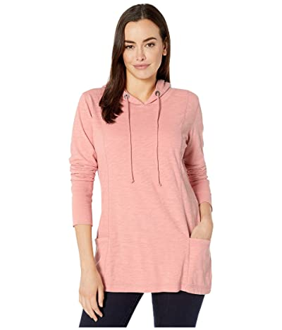 Jag Jeans Gemma Hooded Tunic (Coral Blush) Women