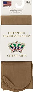 Celeste Stein Therapeutic Compression Socks,  Nude,  8-15 mmhg,  1-Pair