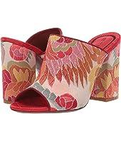 Etro - Jacquard Fabric Heel