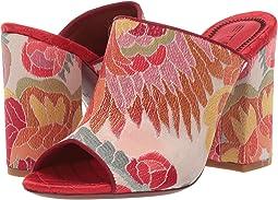Jacquard Fabric Heel