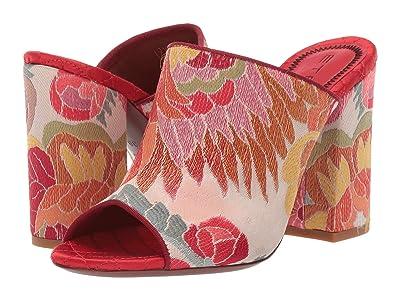 Etro Jacquard Fabric Heel (Pink Multi) Women