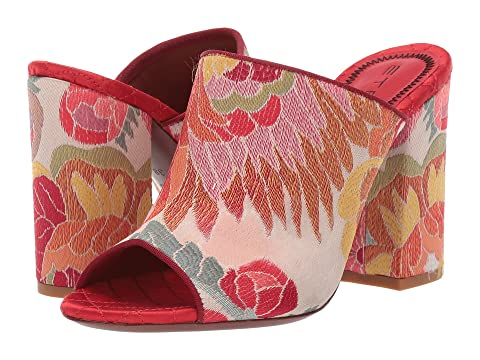 Etro Jacquard Fabric Heel