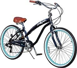 Fito Women's Modena EX Aluminum Alloy 7-Speed 26-Inch Wheel Beach Cruiser Bike