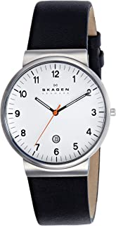 Skagen Casual Watch For Men Analog Leather - SKW6024