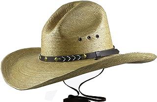 BULL-SKULL HATS, PALM LEAF COWBOY HAT, GUS 518