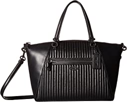 COACH - Quilted Leather Prairie Satchel