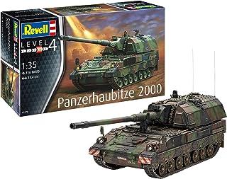 Revell-Panzerhaubitze 2000, Escala 1:35 Kit de Modelos de plástico, Multicolor, 1/35 03279 3279