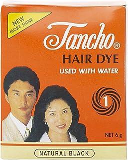 تانشو صبغة شعر، اسود - 6 غم