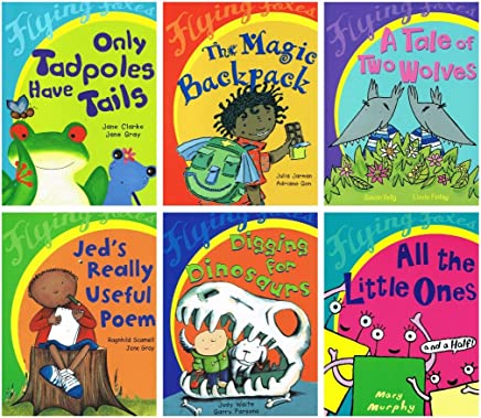 Flying Foxes: 6 book reading pack collection: (Only Tadpoles Have Tails / The Magic Backpack / A Tale of Two Wolves / All the Little Ones - and a Half / Jed?s Really Useful Poem / Digging for Dinosaurs £23.94)