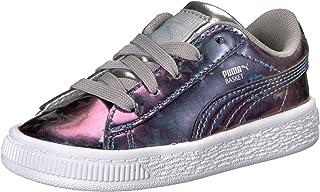 PUMA Kids' Basket Classic Holo Inf Sneaker