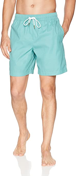 "Amazon Brand - Goodthreads Men's 7"" Inseam Swim Trunk"