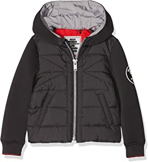 IKKS Junior Boys Doudoune Reversible Bleu Lavande//Blanc Cass/é Jacket