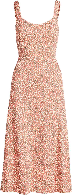 Free People Women's Lorelai Printed Midi Dress