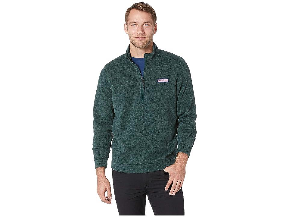 Vineyard Vines Sweater Fleece Shep Shirt (Charleston Green) Men