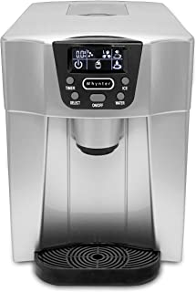 Whynter Silver IDC-221SC Countertop Direct Connection Ice Maker and Water Dispenser, One Size