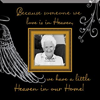 Dexsa Because Someone We Love…Beveled Glass Photo Frame with Easel