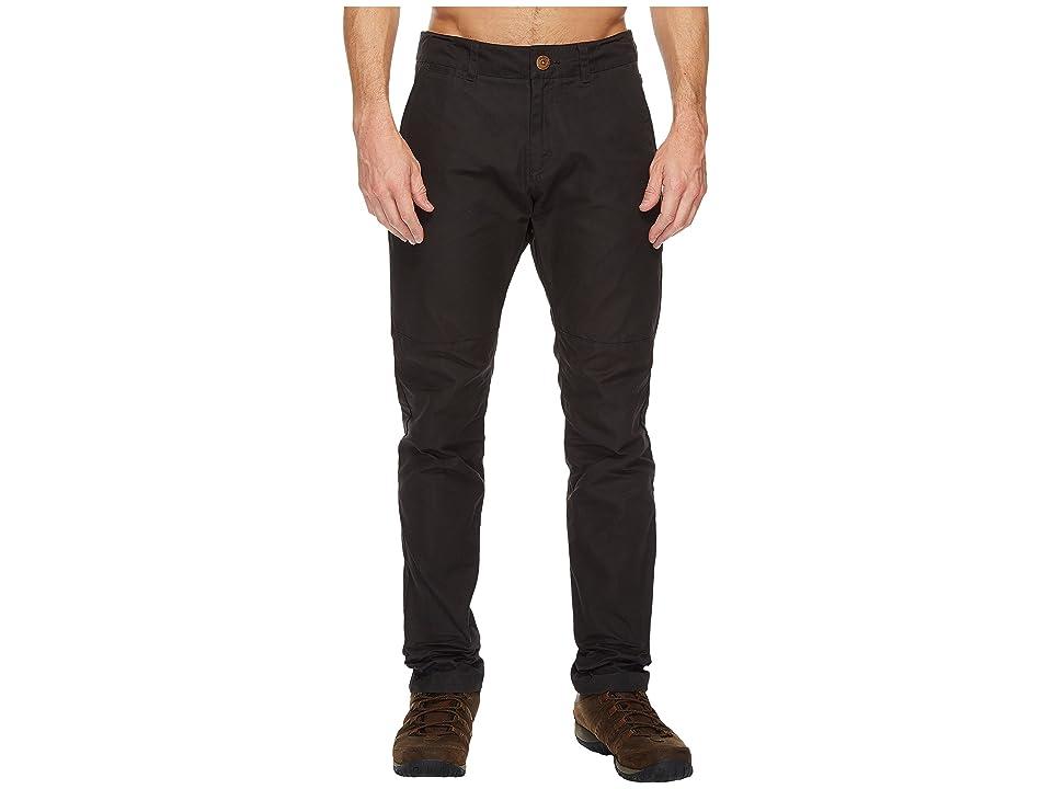 Fjallraven Sormland Tapered Trousers (Dark Grey) Men