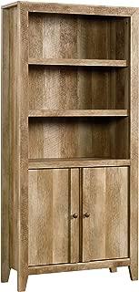 Sauder Dakota Pass Library with Doors, L: 33.82