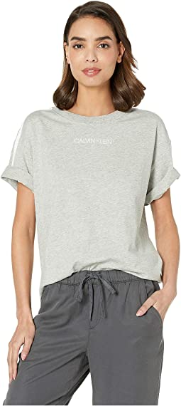 Statement Lounge Short Sleeve Crew Neck T-Shirt