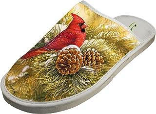 4B854DF6B Cotton Cardinal Snow Winter House Slippers Baboosh Chinela Slipper