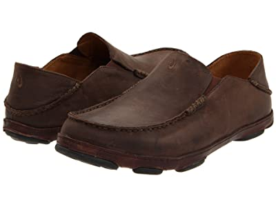 OluKai Moloa (Dark Wood/Dark Java) Men
