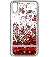 Kate Spade New York - Lips Liquid Glitter Phone Case for iPhone XS Max