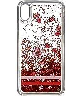 Kate Spade New York - Lips Liquid Glitter Phone Case for iPhone XS Max