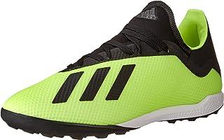 Adidas män X tango 18.3 Tf fotbollsskor, krämvit