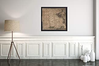 1775 to The Hone. Jno. Hancock, Esqre. President of ye Continental Congress, This map of The seat of Civil war in America, is respectfully inscribed by his Most Obedient Humble Servant, B. Romans His