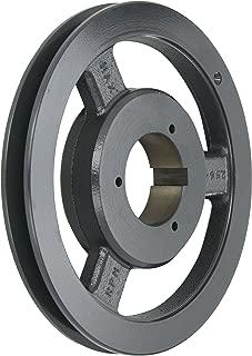 Browning 1B5V94 Split Taper Sheave, Cast Iron, 1 Groove, A, B or 5V Belt, Uses B Bushing