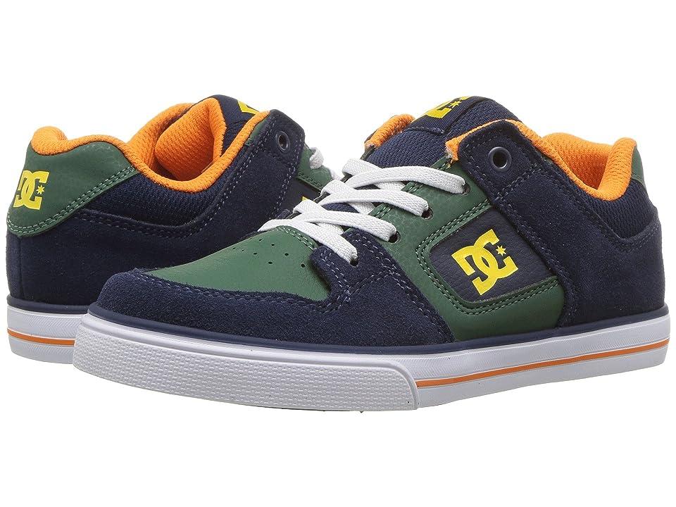 DC Kids Pure Elastic (Little Kid/Big Kid) (Multi) Boys Shoes