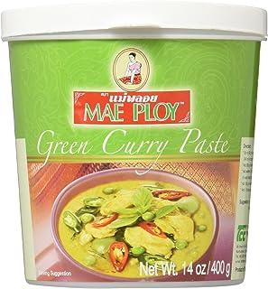 Mae Ploy Thai Green Curry Paste - 14 oz jar