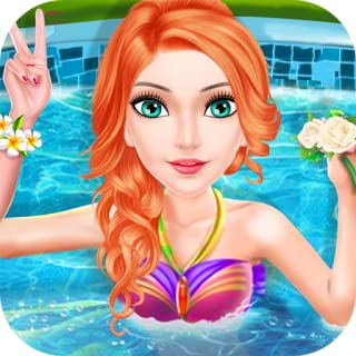 Pool Party For Girls dress up and fashion contest - game for kids and little girls FREE