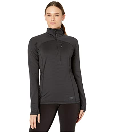 Outdoor Research Vigor 1/4 Zip (Black) Women