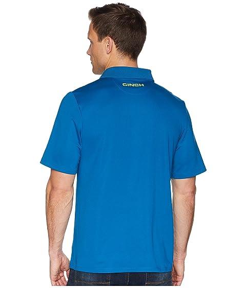 1 Polo Cinch Athletic Azul Tech RF7UWzB7