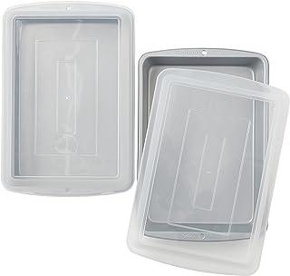 Wilton Recipe - Sartén rectangular con tapa 13