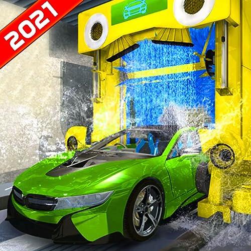 Jeux de service de lavage de voiture de mécanicien de station-service 2020